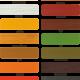 Цветовая палитра пропитки Luxdecor Plus